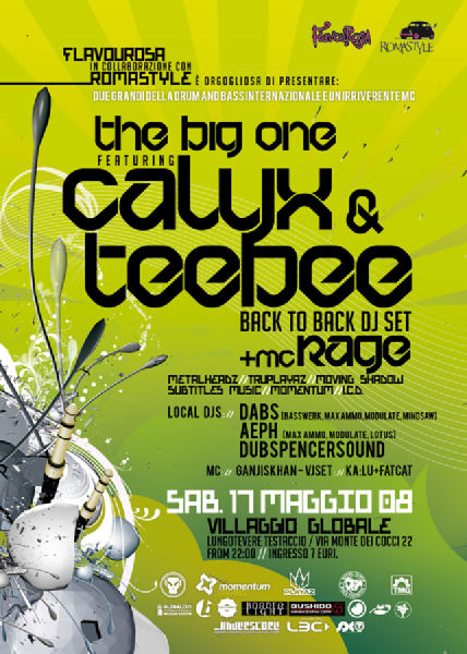 The Big One Feat. Calyx and Mc Rage